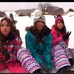 【エロ動画】 滑れなくても行っておくべきだった・・・!ゲレンデでの逆ナンパ4P!