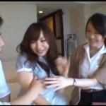 【エロ動画】 仲良しOLはナンパされるときもエッチするときも一緒で仲良くAV出演!