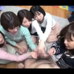 【エロ動画】 童貞くんで遊ぶママ友さんたちのエロエロ王様ゲーム!