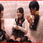 【エロ動画】 お互いに彼氏持ちだという女子大生2人組をレズナンパ!