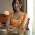 【エロ動画】 九州からAV応募してきた童顔の幼妻に中出しセックス!