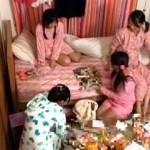 【エロ動画】 お泊り会で家に集まった妹の友達たちと順番にハメまくりSEX!