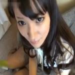 【エロ動画】 黒髪ロングのゆるふわガールと両手を縛って着衣ハメ撮り!