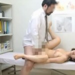 【エロ動画】 産婦人科にきた女性患者が髭面のむさいおっさんに犯される!