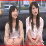 【エロ動画】 友達同士の2人組に催眠術をかけて中出しマジックミラー号!