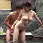 【エロ動画】 既婚者限定!初対面の男女を混浴させたらエッチするのか企画!