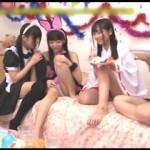 【エロ動画】 妹の誕生日パーティーにきた妹友達たちのパンチラに童貞兄フル勃起!
