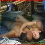 【エロ動画】 汚いホームレス男とのセックスに興奮する上品な熟女妻たち!