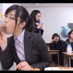 【エロ動画】 壁や机からチンポが生えてくる変態すぎる都立しゃぶりながら学園!