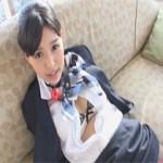 【エロ動画】 ドMな激カワCAを拘束して調教しまくる着衣ファック!