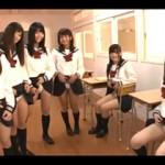 【エロ動画】 たった1本のチンポを同級生6人が取り合うハーレム乱交!