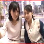【エロ動画】 友達が素の表情でドン引きしてるけど気にせず男優とセックスする素人娘!