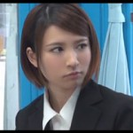 志望企業の面接前にマジックミラー号でセックスする奈良の美人就活生のナンパ動画!