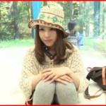 可愛い山ガールの彼女が寝取られる素人カップルのマジックミラー号動画!