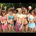 夏だ!プールだ!水着ギャルだ!集まった水着ギャルたちとエロエロゲームからの大乱交セックス!