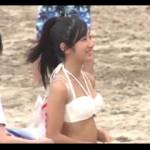 家族で海に遊びに来ていた水着娘を無料マッサージと騙して家族に言えない本番行為!