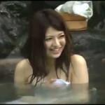 混浴モニターと称して初対面なのに裸で混浴させられた男女!誰もいなくなった温泉でこっそり・・・