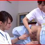 現役&元看護婦の7人を集めた本物志向の手コキ&性交クリニック動画!