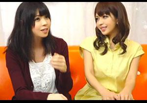 【エロ下着】 女子大生2人にちょっとエッチなガールズトークをして下さいと謝礼金を払ってハメ撮りへ持ち込む!