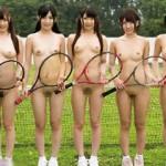 女子テニス部がコーチに悪戯されてヤラれまくってる実はヤリまくりな夏合宿映像!