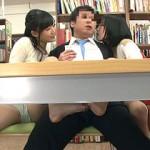 昼下がりの図書館では本を読んでるだけで欲求不満の若妻たちが誘惑してきてヤリまくれる説!