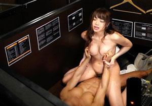 渋谷のネカフェで終電逃して暇を持て余してる女性をキャッチして個室でSEX隠し撮り☆