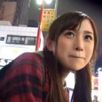 可愛いのに体重37キロ・・・!家出して上京してきた女性を夜の新宿で声をかけてAVデビュー!
