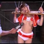 レジェンドAV女優の吉沢明歩を完全拘束してイラマに高速ピストンで犯しまくる過激ファックAV!