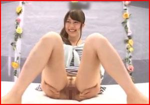 おまんちょクパァしたら謝礼カネ☆女子大学生が極限恥ずかしいプレイさせられるマジックミラー号キャッチ☆