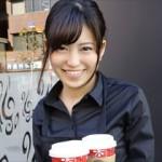 アルバイト中のカフェ店員さんを休憩時間に呼び出してドキドキのハメ撮り!