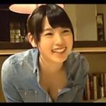 代官山のカフェ&バーで働く看板娘の女の子を取材と騙して口説いてAV出演!