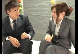 「先輩、セックスしちゃいましょ~」 謝礼(現カネ)を見た社内レディーが上司を誘うマジックミラー号キャッチ☆