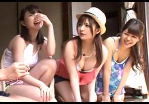 都会の女は超えろい☆夏休みに姉が親友を連れて帰省してきた結果、姉友とハメまくり☆