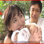 箱根で見つけた素人カップル同士が野球拳で対決!中出しされたのに笑顔な彼女に彼氏ショック!