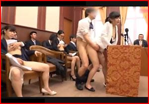 女性議員に自由にハメる☆問題ありありだけど支持率高い「自由オまんこ党」の活動記録映像☆