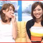 「嘘やん!めっちゃ照れるやん!」 大阪でノリのいい素人娘が友達同士でレズキス!