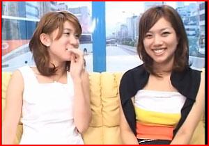 「嘘やん☆めっちゃ照れるやん☆」 大阪でイケイケのいいシロウト小娘が親友同士でレズビアンKISS☆