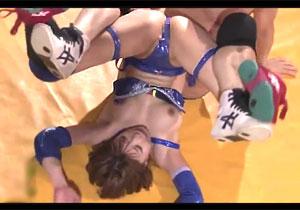 ヤラセなしのガチファック☆美巨乳女子プロレスラーに危険日直撃の孕ませナカ出しデスマッチ☆