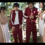 「私たちの裸見たんだからあんたも見せなさいよ!」 修学旅行で覗きがバレて女子の前でチンポ公開!