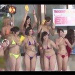 テレビ放送の裏側はこんなにもエロい!セクシー女優たちの水泳大会で実はハメられてましたスペシャル!