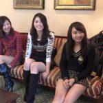 北海道のローカルタレントが出演して大騒動になったあの3人組の乱交AV動画!