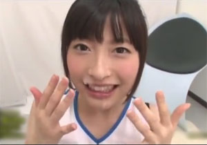 めちゃ可愛チアリーダー・北野のぞみちゃんのご奉仕フェラ抜き!