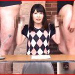女子アナが真面目な顔して放送禁止用語を連発しちゃう淫語満載の変態ニュース番組!