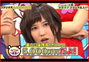 5000萬円の貯カネがある湊莉久が萬引きして捕まってオシオキ強姦されるAVが発売☆