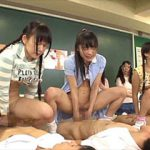 生徒の前で先生同士がセックスして実演する今時の過激な性教育の授業風景!