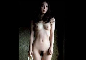 「謎の美女」と言われて話題になった祥子のヘアヌード画像!