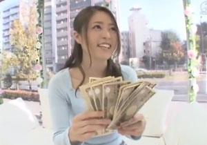 お金に釣られて即ハメされちゃう素人娘のマジックミラー号ドッキリ!