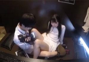 ネカフェでバレないようにエッチするハメ撮りミッション動画!